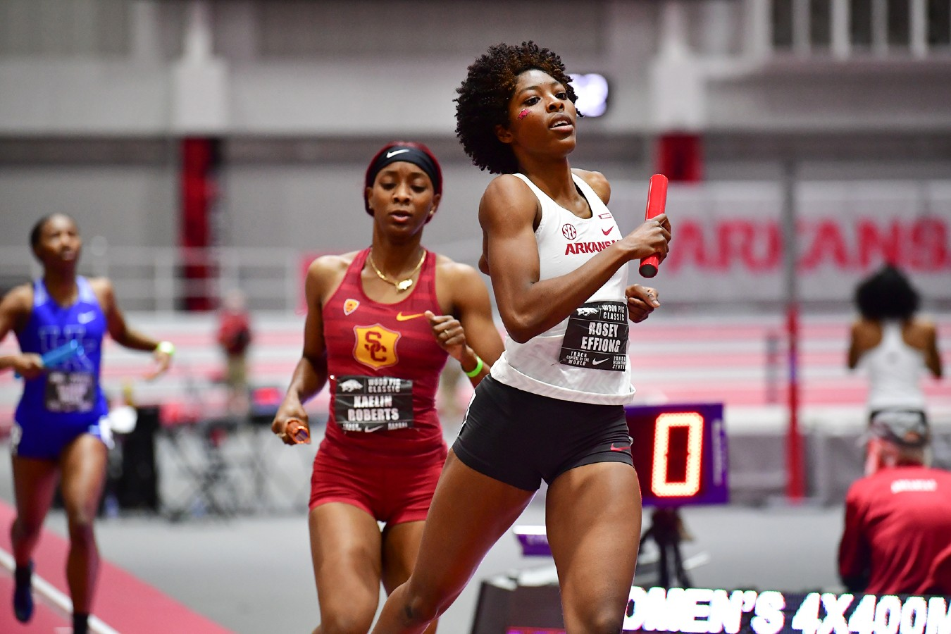 Arkansas Razorbacks Women's Track & Field Rating Index