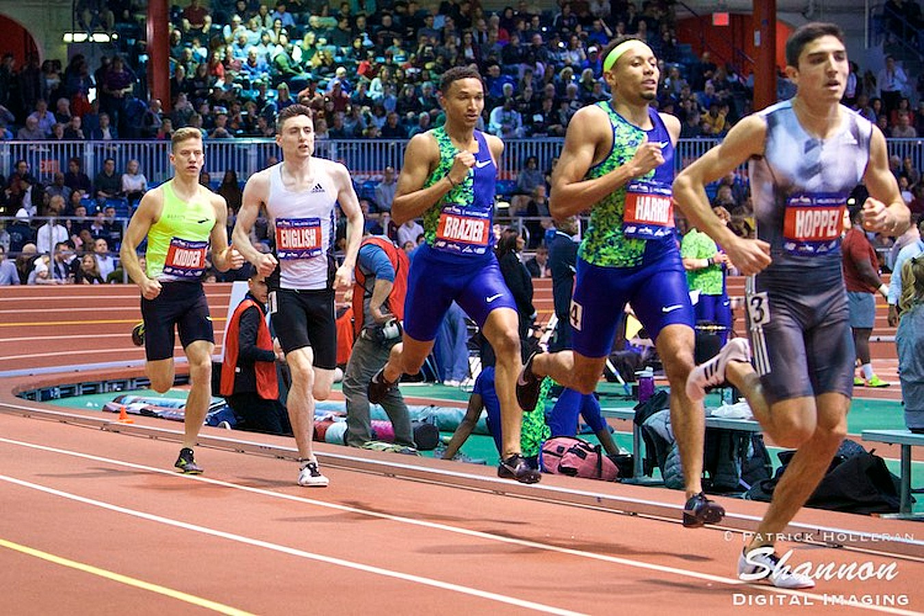 Bryce Hoppel of USA at the 2020 Millrose Games
