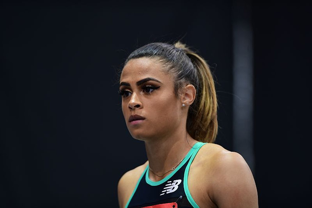 Sydney McLaughlin of USA
