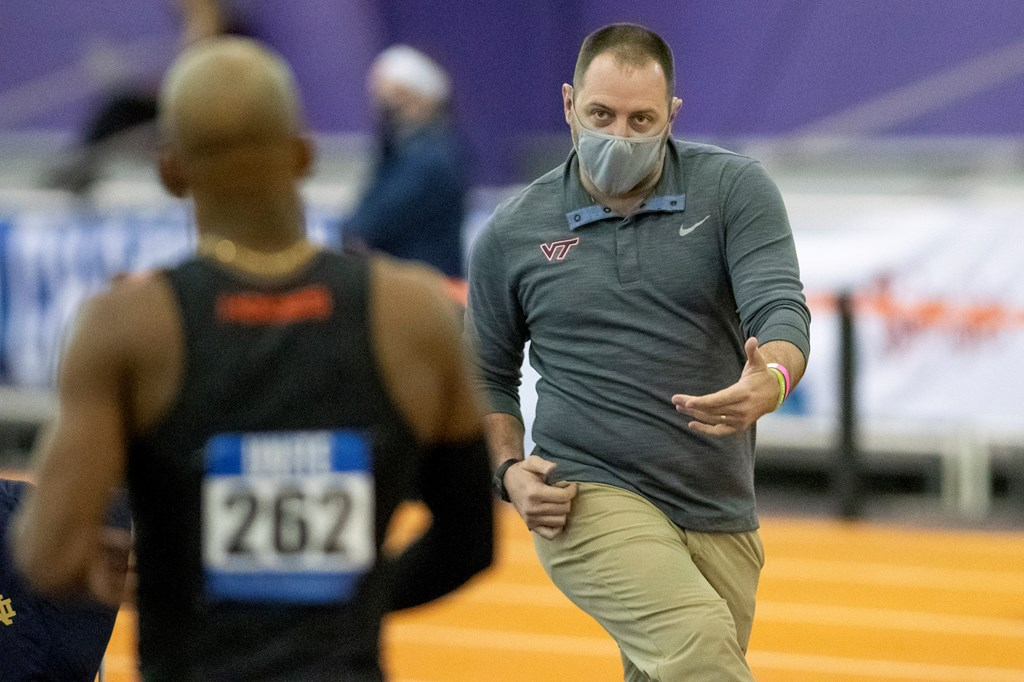 Virginia Tech ACC Indoor Conference Championships
