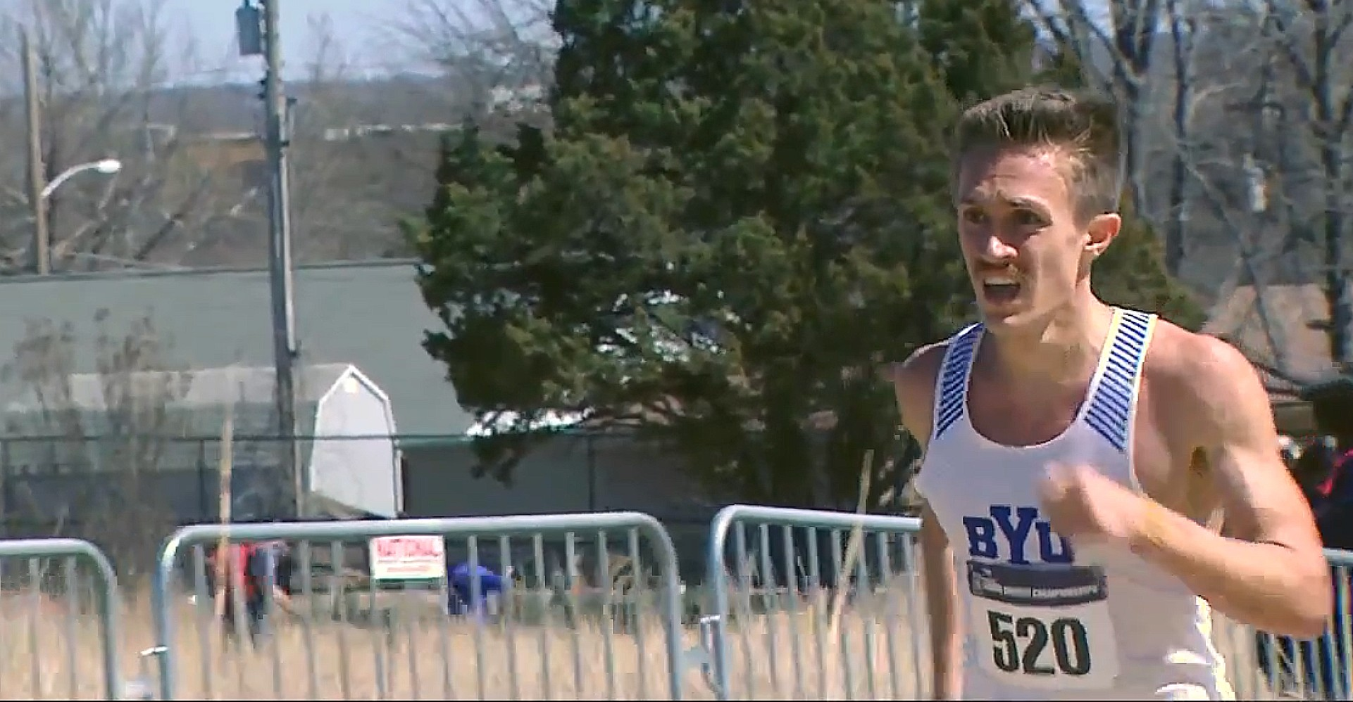 Conner Mantz of BYU Wins Men's 10K At 2021 Cross Country Championships