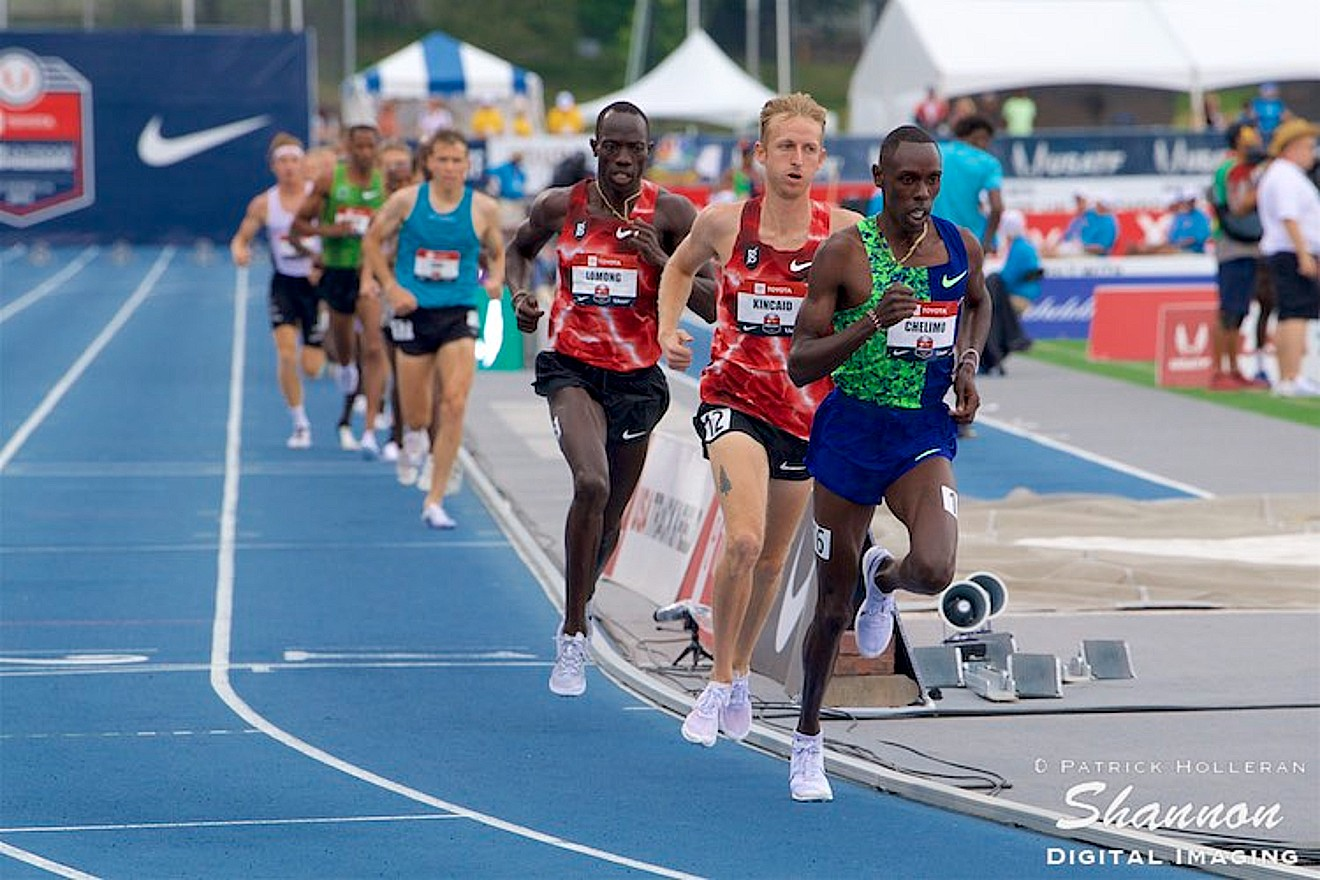 2019 USATF Championships: Paul Chelimo Leads the 5000 Meter