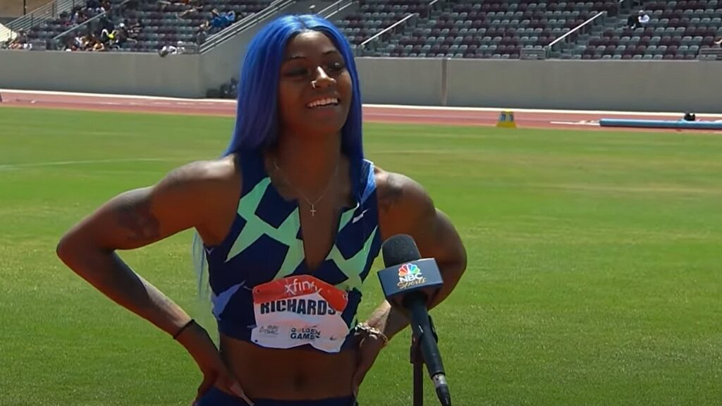 Sha'Carri Richardson runs wind-aided 10.64 in 100m semifinals at US Trials  | World-Track and Field Website