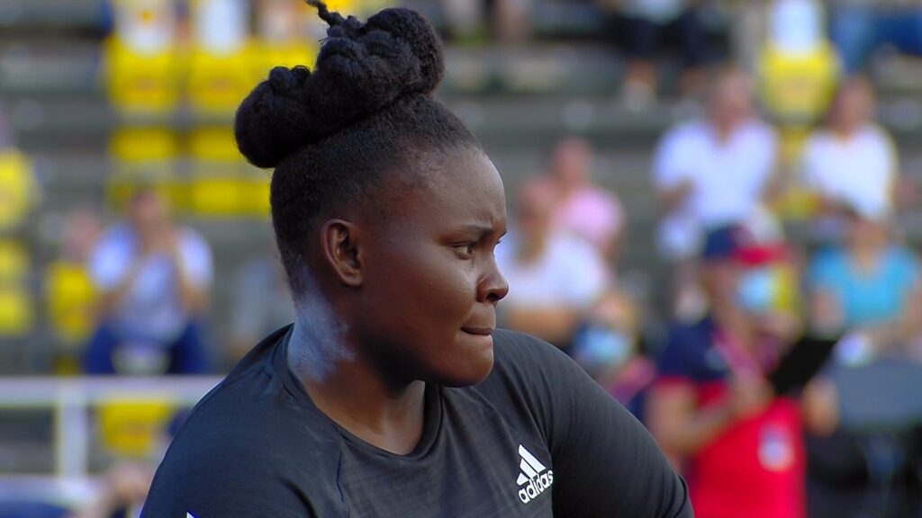 Danniel-Thomas-Dodd-of-Jamaica-in-the-shot-put-at-the-2021-Stockholm-Diamond-League