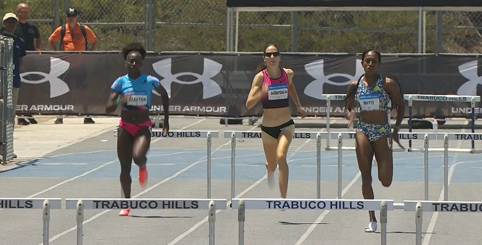 Rhonda Whyte at the American Track League in Los Angeles