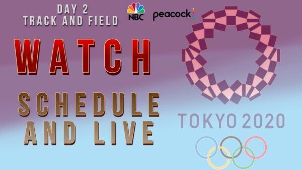 How to watch Tokyo 2020 Day 2 schedule and live streaming