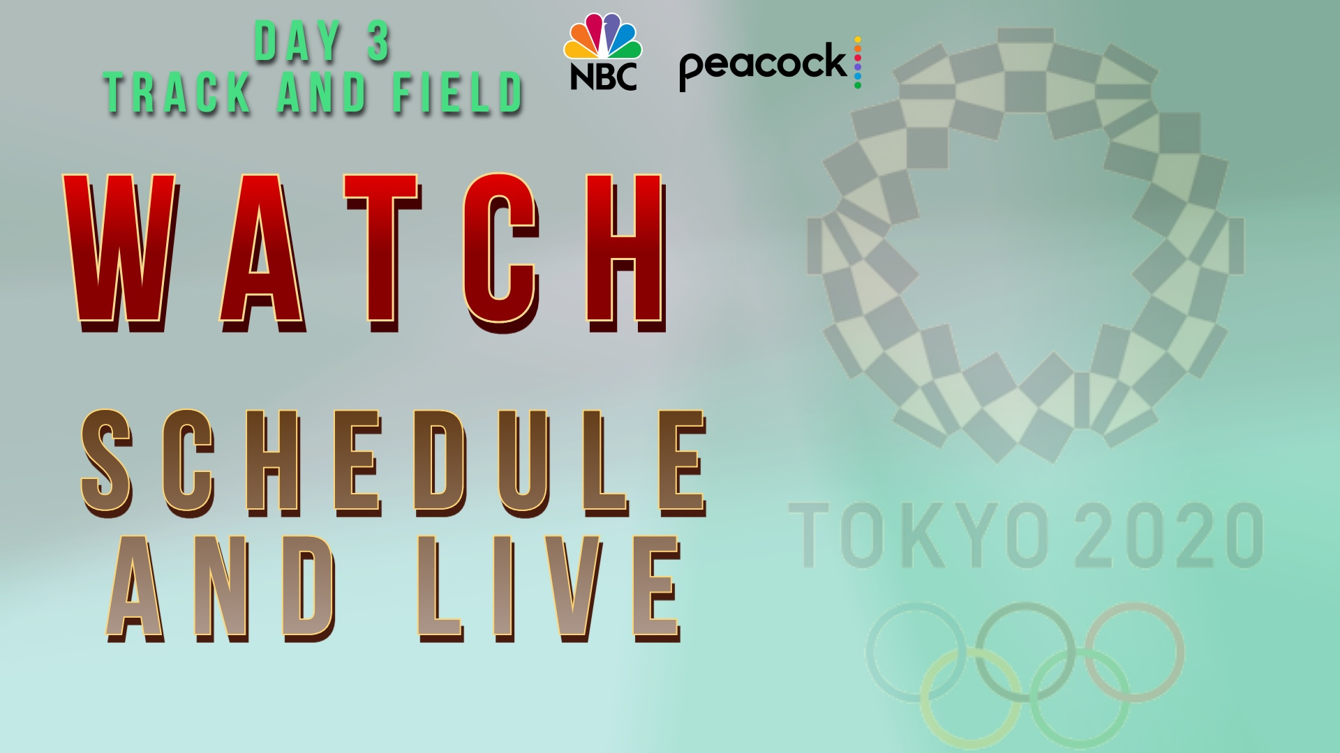 How to watch Tokyo 2020 Olympic Games Day 3 live stream
