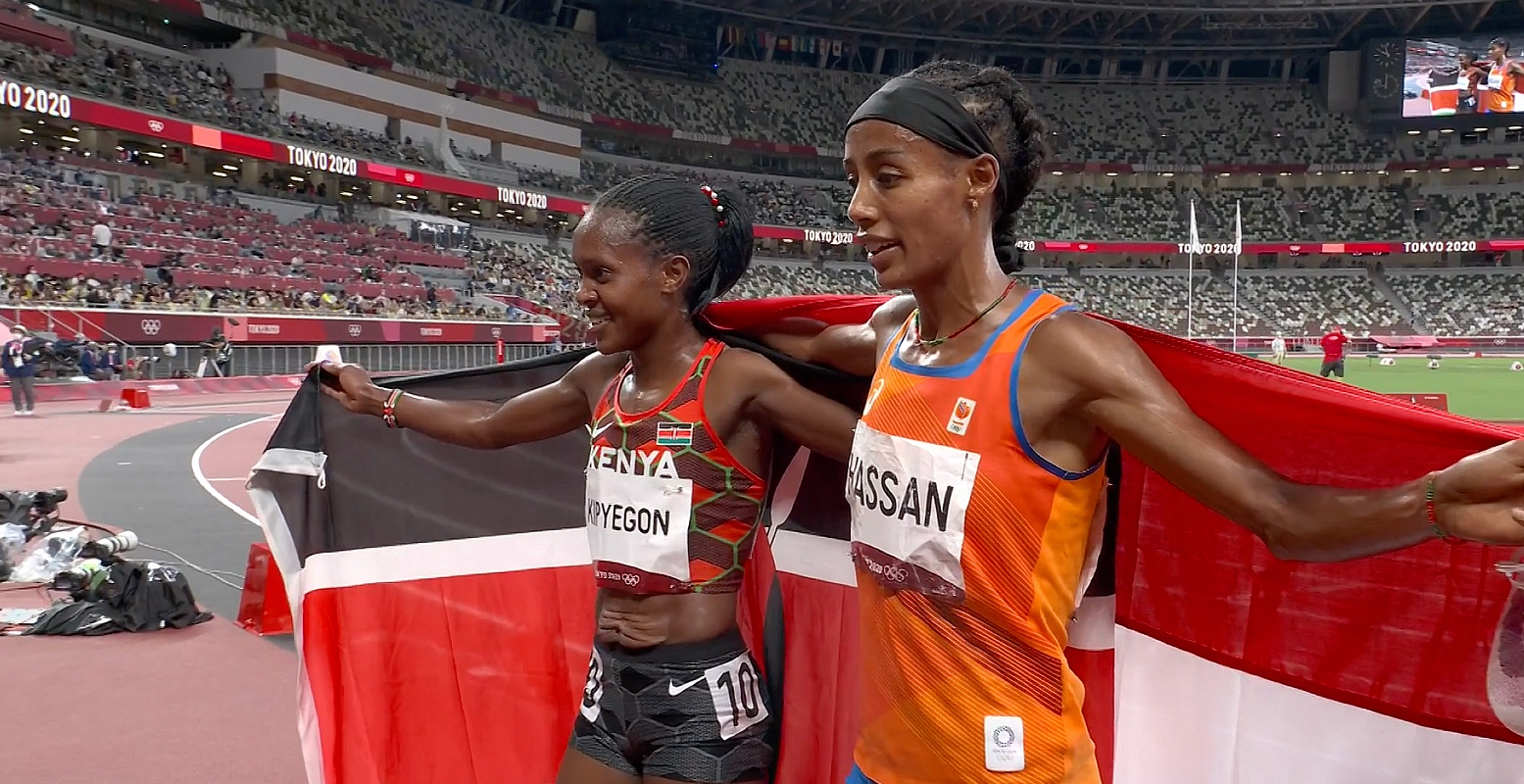Faith-Kipyegon-and-Sifan-Hassan-in-Tokyo-2020
