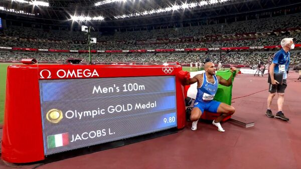 Tokyo 2020 Lamont Marcell Jacobs wins Olympic 100m