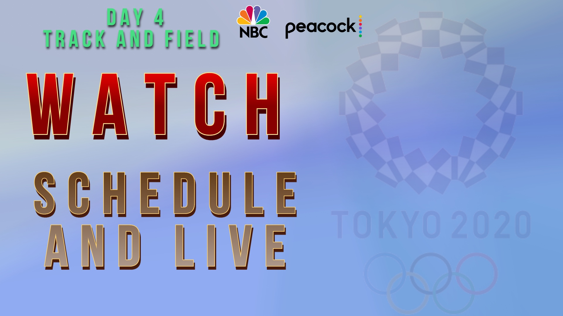 Watch Tokyo 2020 live streaming day 4